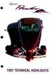 Plymouth Prowler Technical Highlights 1997