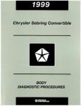 Chrysler Sebring Convertible Body Diagnostic Procedures 1999 Used