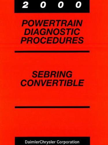 chrysler sebring repair manual free