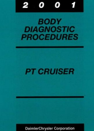 Chrysler PT Cruiser Body Diagnostic Procedures 2001 Used