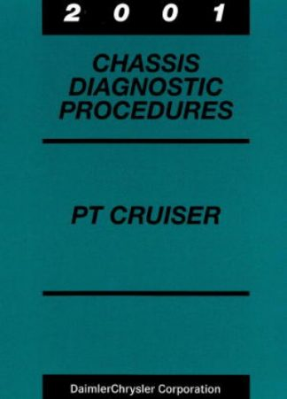 Chrysler PT Cruiser Chassis Diagnostic Procedures Manual 2001 Used