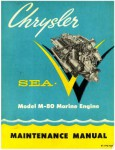 Chrysler SEA-V MODEL M-80 Marine Boat Engine Service Repair Manual