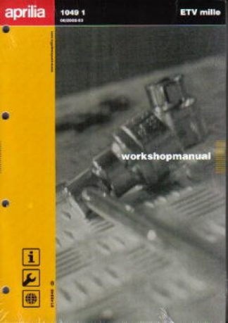 Official 2002-2003 Aprilia ETV Mille Workshop Manual