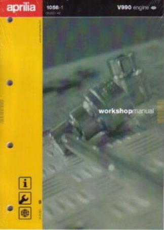 Official Aprilia Engine V990 - 2003 Manual Not for 2004 RSV