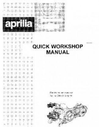 Official Aprilia Ditech Engine Manual For all Ditech Engines