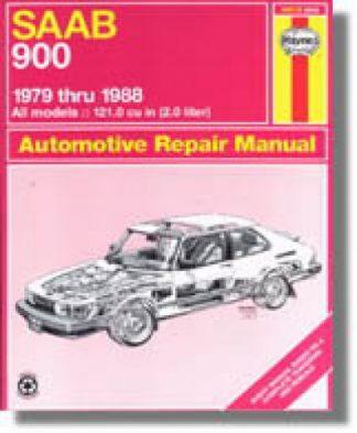 Haynes SAAB 900 1979-1988 Auto Repair Manual