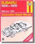 Haynes Subaru 1600 1800 1980-1994 Auto Repair Manual