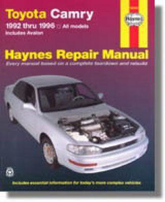 Haynes Toyota Camry Avalon 1992-1996 Auto Repair Manual