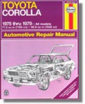 Haynes Toyota Corolla 1975-1979 Auto Repair Manual