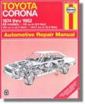Haynes Toyota Corona 1974-1982 Auto Repair Manual