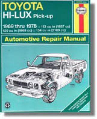 Used Haynes Toyota Pick-up 1969-1978 Auto Repair Manual