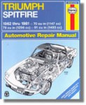 Haynes Triumph Spitfire 1962-1981 Auto Repair Manual