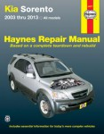 Kia Sorento Haynes Repair Manual