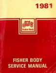 Fisher Body Service Manual 1981 Used