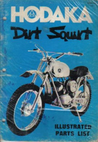 Official 1973-1975 Hodaka Dirt Squirt 100 Spare Parts Manual
