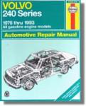 Haynes Volvo 240 Series 1976-1993 Auto Repair Manual