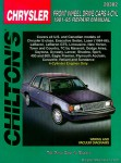 Chilton Chrysler Front Wheel Drive Cars - 4 Cyl 1981-1995 Repair Manual