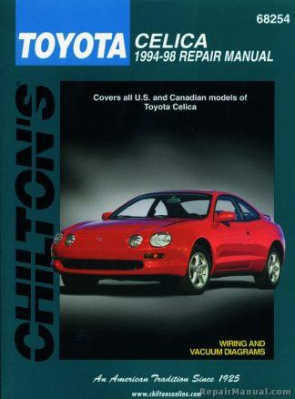 Chilton Toyota Celica 1994-1998 Repair Manual