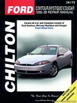 Chilton Ford Contour Mystique Cougar 1995-1999 Repair Manual