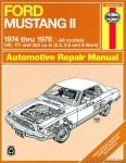 Haynes Ford Mustang II 1974-1978 Repair Manual
