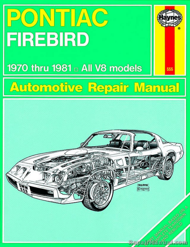 haynes pontiac firebird 1970 1981 auto repair manual rh repairmanual com Polaris Repair Manual Haynes Auto Manuals