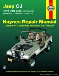 Haynes Jeep CJ 1949 - 1986 Service Repair Manual