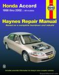 Haynes Honda Accord 1998-2002 Repair Manual