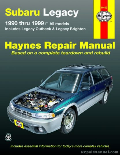 Subaru Legacy 1990-1999 Haynes Automotive Repair Workshop Manual