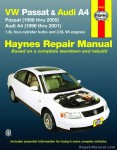 Haynes VW Passat Audi A4 1996-2005 Auto Repair Manual