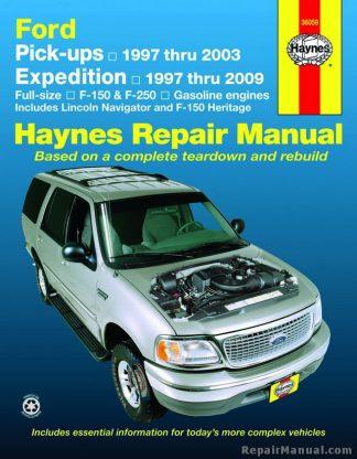 Haynes Ford Pickup Expedition Lincoln Navigator 1997-2009 Repair Manual