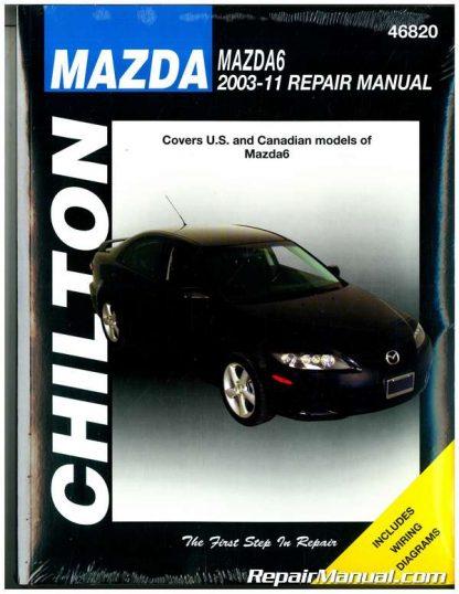 2003-2011 Mazda 6 Chilton Automotive Repair Manual
