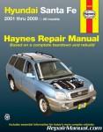 Haynes Hyundai Santa Fe 2001-2009 Auto Repair Manual