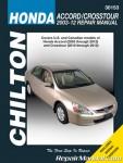 Honda Accord Crosstour 2003-2012 Service Repair Manual