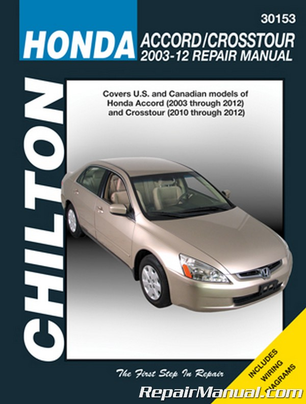 Honda Accord Crosstour 2003 2012 Service Repair Manual