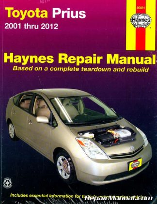 Toyota Prius 2001-2012 Haynes Repair Manual