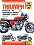 Haynes Triumph Bonneville T100 Speedmaster America Thruxton Scrambler 2001-2012 Repair Manual