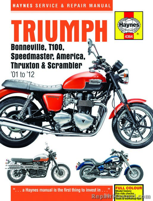 triumph bonneville t100 speedmaster america thruxton scrambler 2001 rh repairmanual com Mot UK Rules MOT Test Steering
