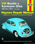 Haynes VW Beetle Karmann Ghia 1954-1979 Auto Repair Manual