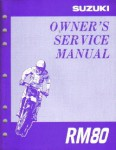 Official 1996-1997 Suzuki RM80T and RM80V Factory Service Manual