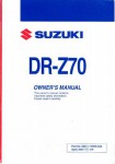 Official 2008 Suzuki DR-Z70K8 Factory Owners Manual