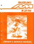 Official 2003 Suzuki RM125K3 Factory Service Manual
