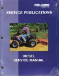 Official 1999 Polaris 455 4x4 Diesel ATV Factory Service Manual