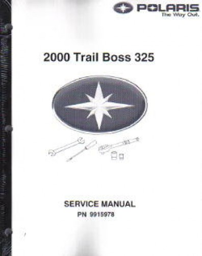 2000 Polaris Trail Boss 325 Atv Service Manual