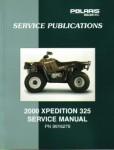 Official 2000 Polaris Xpedition 325 Factory Service Manual