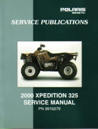 Official 2000 Polaris Xpedition 325 Factory Service Manual