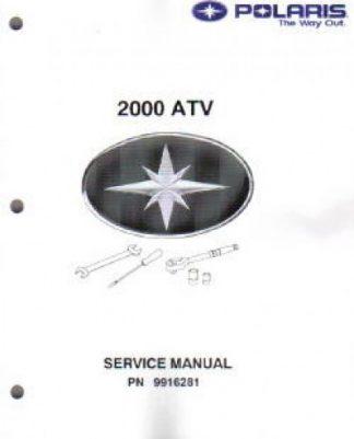 Official 1999-2000 Polaris Trail Blazer ATV Factory Service Manual