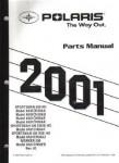 Official 2001 Polaris Sportsman 500 HO ATV Parts Manual