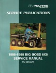 Official 1998-1999 Polaris Big Boss 500 6x6 Factory Service Manual