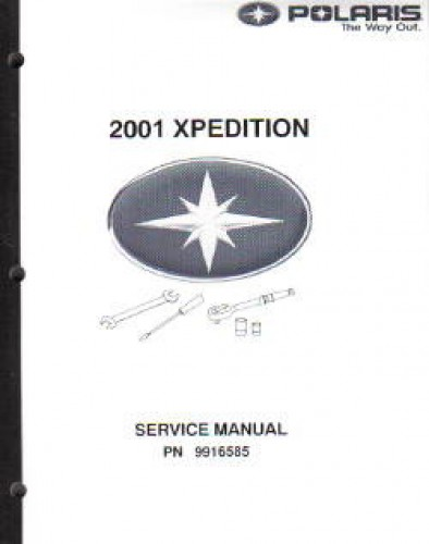 2001 Polaris Magnum 325 500 Atv Service Manual