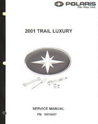Official 2001 Polaris Trail Luxury Factory Service Manual